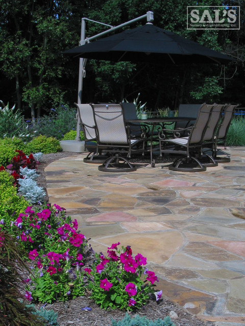 Outdoor Living Spaces traditional-patio