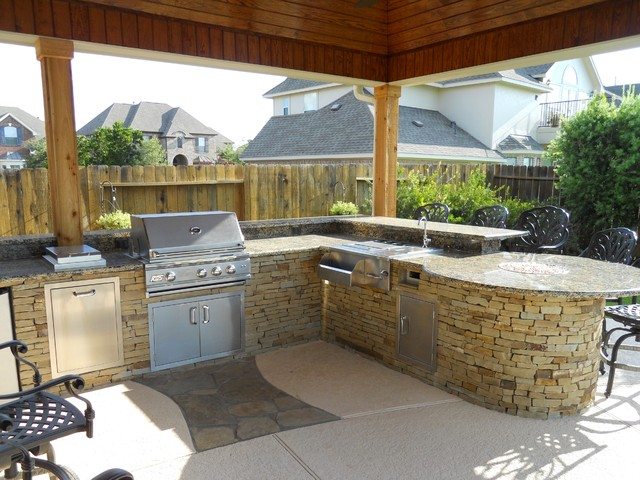 Outdoor Living traditional kitchen