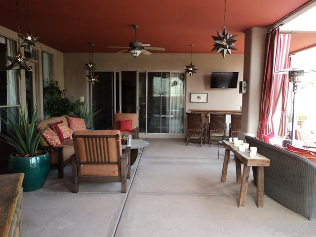 Outdoor patio eclectic-patio