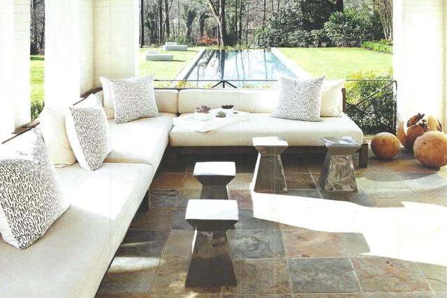 Outdoor Patio Contemporary Patio Atlanta By