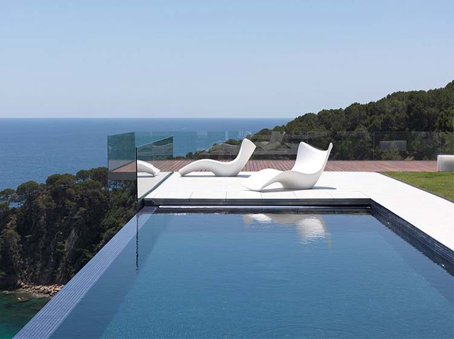 Outdoor Pool Ideas Contemporary Patio Glasgow By