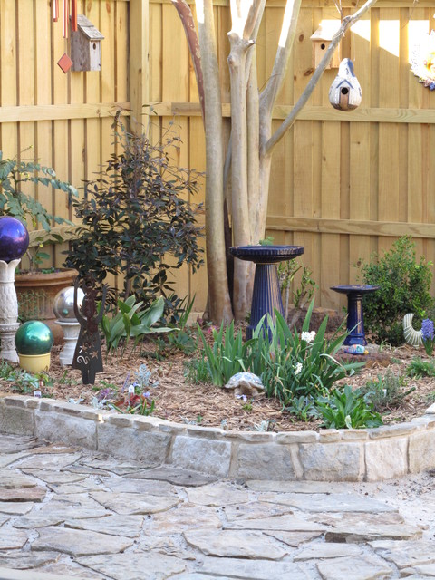 Outdoor Renovation eclectic patio