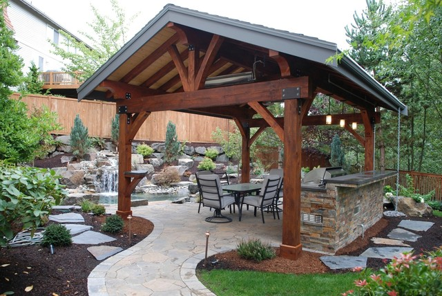 Outdoor Rooms traditional-patio