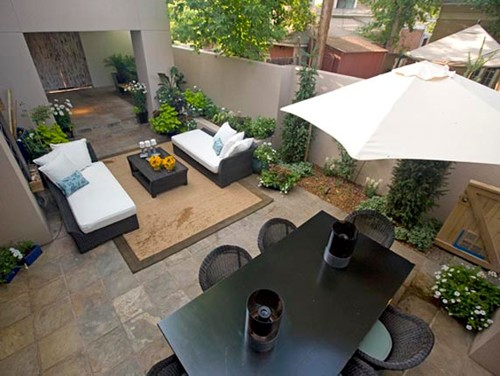 Contemporary Patio by Denver Landscape Architects & Landscape Designers Lifescape Colorado.