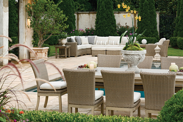 Amazing Outdoor Sectional Sofa And Patio Dining Set In Resin Wicker Home Interior And Landscaping Ologienasavecom