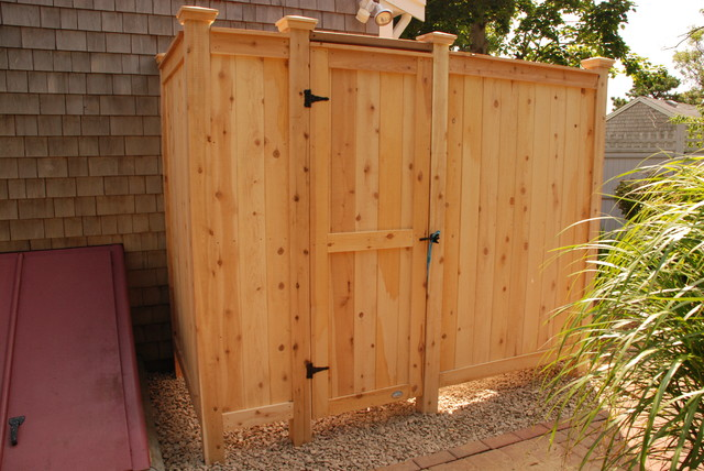 Outdoor Shower Kit Modern Patio Boston By Cape Cod Shower Kits Co