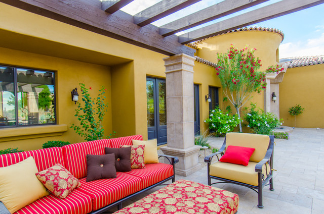 Outdoor Space Traditional Patio Phoenix By In The