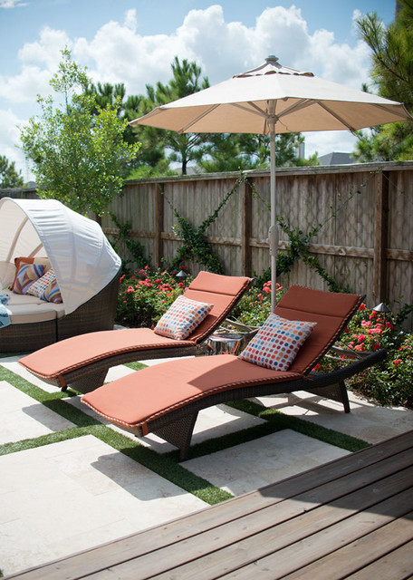 Outdoor Space Katy TX Modern Patio Houston by