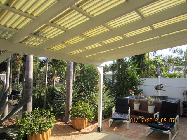 Outdoor Space tropical-patio
