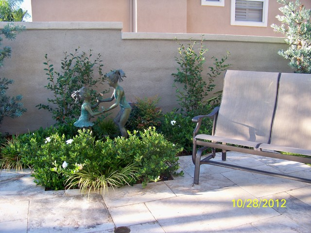Outdoor Spaces Traditional Patio Orange County By