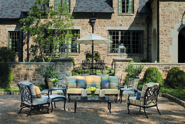 Outdoor Spaces Traditional Patio Nashville by Summer Classics Home