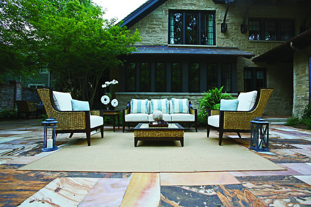 Outdoor spaces traditional patio nashville by for Outdoor furniture nashville
