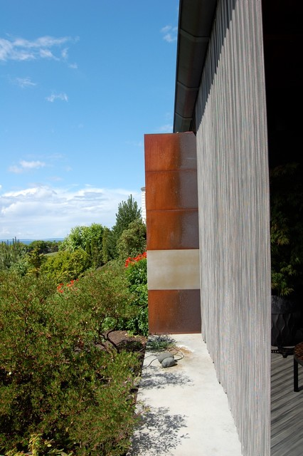 Outdoor stainless steel curtain industrial-patio