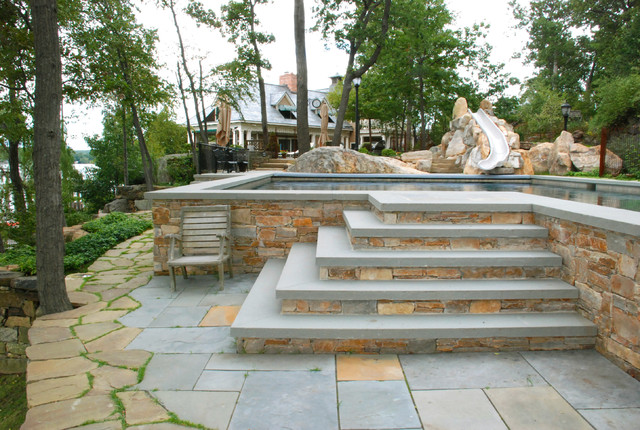 Outdoor Steps And Patios Craftsman Patio New York