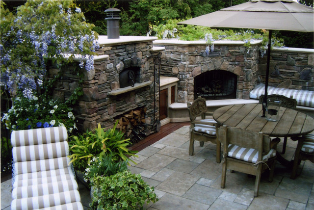 Outdoor Wood Fired Pizza Ovens - Flat Roof Oven ... on Outdoor Patio With Pizza Oven id=35468