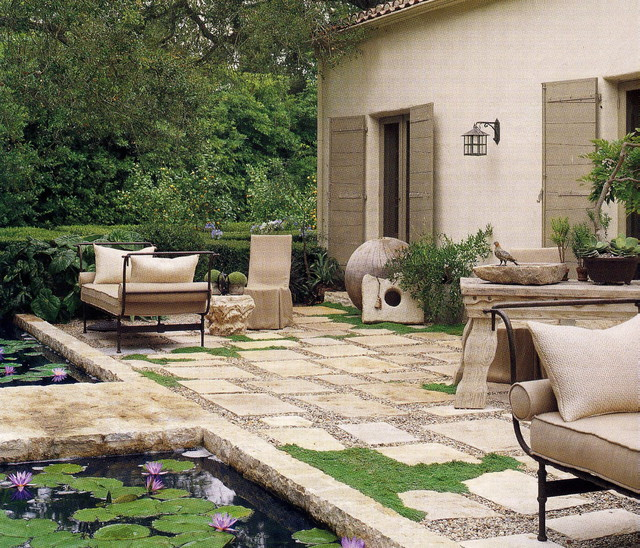 Outdoors rustic-patio