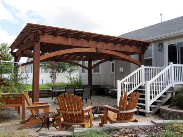 over sized timber frame pergola arbor gazebo kits patio
