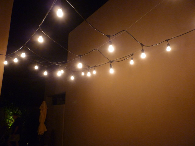 Overhead Lighting contemporary-patio