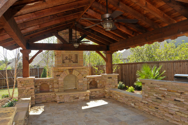 Overhead Structure/Grilling Station/Fireplace on Patio Grill Station id=71544