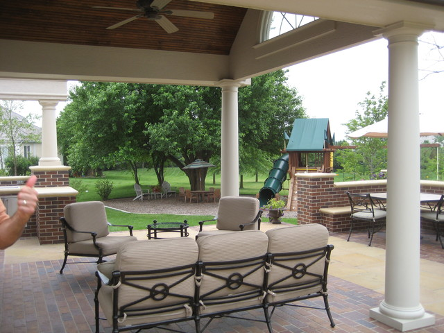 Overland Park Outdoor Living - Traditional - Patio - Kansas City - By Creative Outdoor Spaces