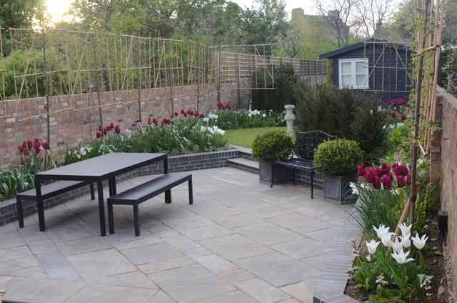 Oxford garden contemporary patio other by chloe for Oxford garden designs