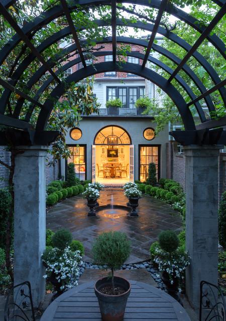 P Street Garden traditional-patio