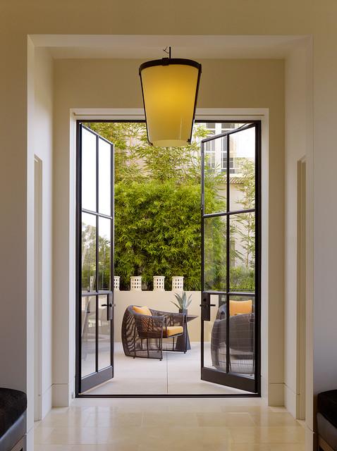Patio - contemporary concrete patio idea in San Francisco - Pacific Avenue Residence - San Francisco, CA - Contemporary - Patio