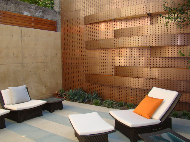 Pacific Heights contemporary-patio