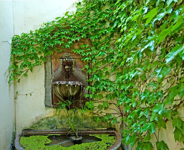 Pacific Palisades Italian Villa mediterranean-patio