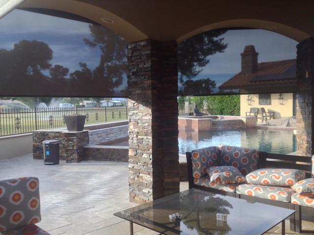 Palm Springs Home mediterranean-patio