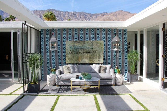 Palm Springs Modernism Showroom Modern Patio Other By Rachael Hodge