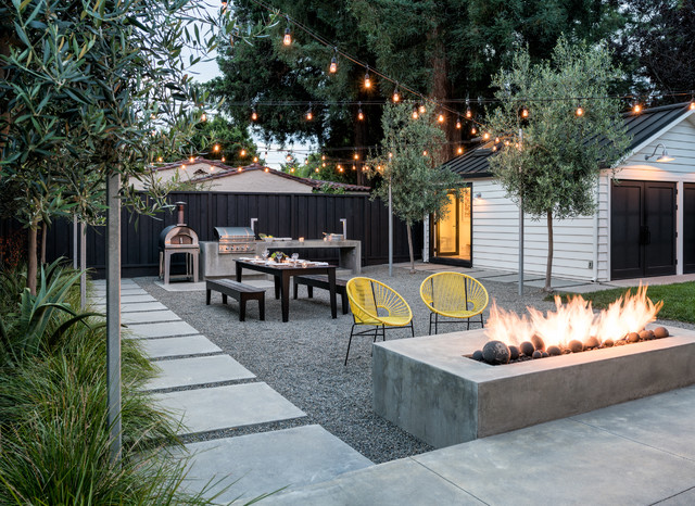 Superb Inspiration For A Contemporary Backyard Gravel Patio Remodel In San  Francisco With A Fire Pit. Email Save. Randy Thueme Design Inc.   Landscape  Architecture