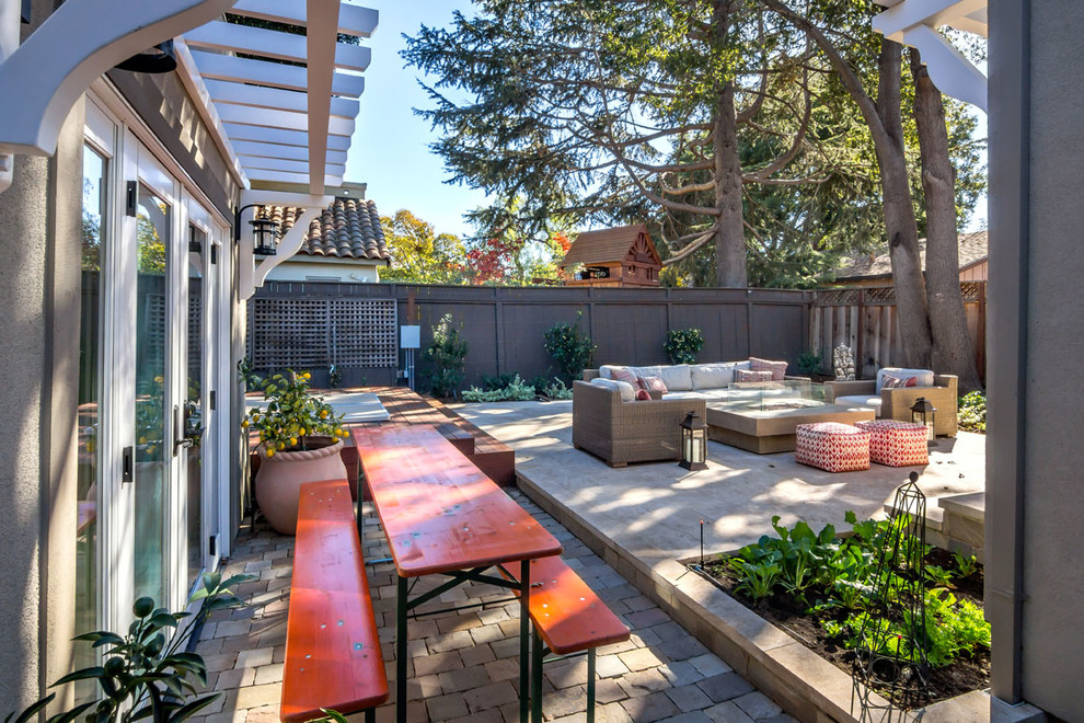 Palo Alto Bedroom Addition - Transitional - Patio - San ...