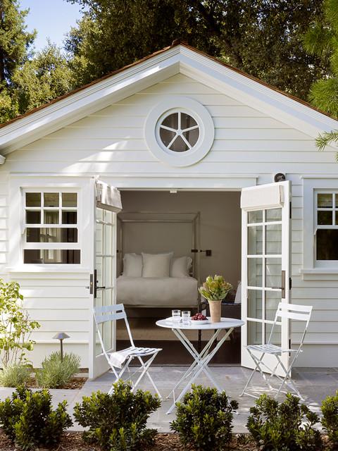 Palo alto dutch colonial revival traditional patio - Dutch colonial interior design ideas ...