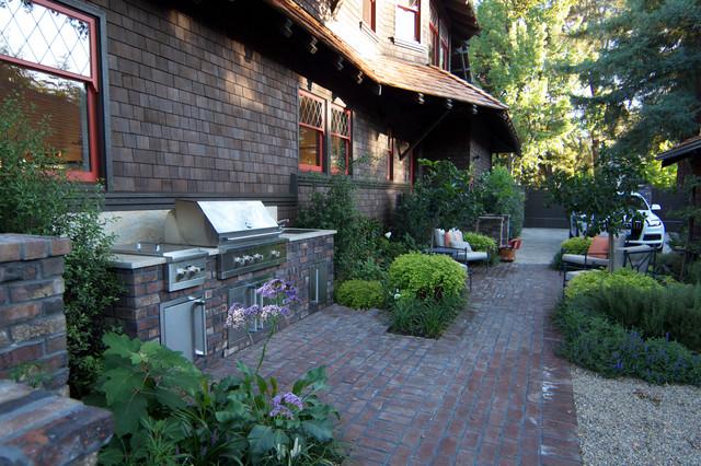 Palo alto historic home craftsman patio san - Houzz palo alto ca ...