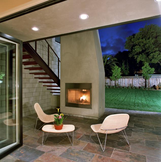 Tennyson New Residence contemporary-patio