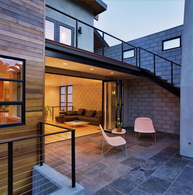 Tennyson New Residence contemporary patio