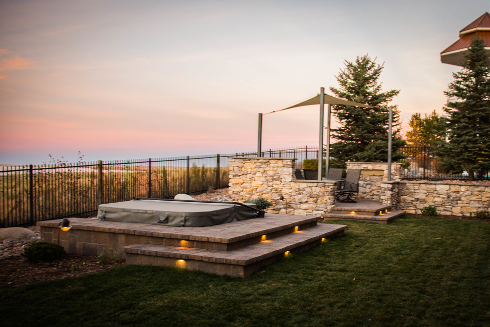 PANORAMIC VIEW - Rustic - Patio - Denver - by Elite ... on Elite Landscape And Outdoor Living id=86391