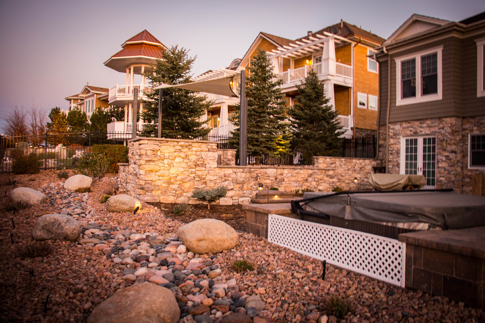 PANORAMIC VIEW - Rustic - Patio - Denver - by Elite ... on Elite Landscape And Outdoor Living id=12343