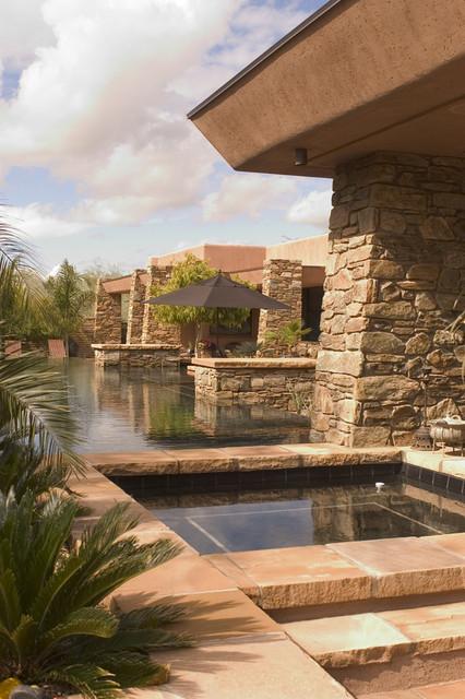 Paradise Valley, Arizona contemporary-patio