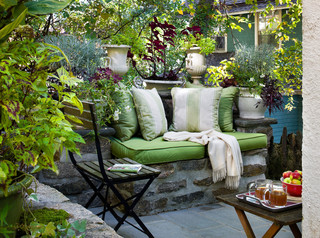 Park Hill House Traditional Patio New York By