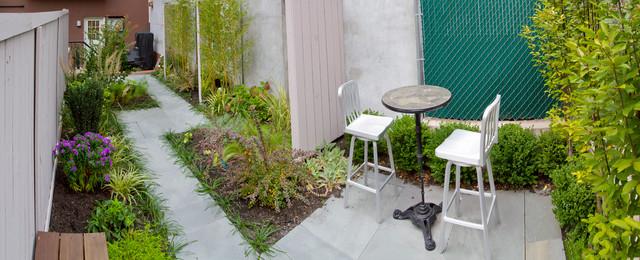 Park Slope Condo 2 contemporary-patio