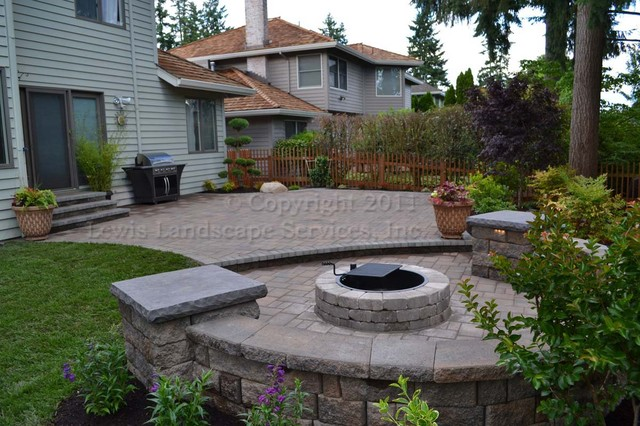 Parker Landscape / Hardscape Project 2011 contemporary patio