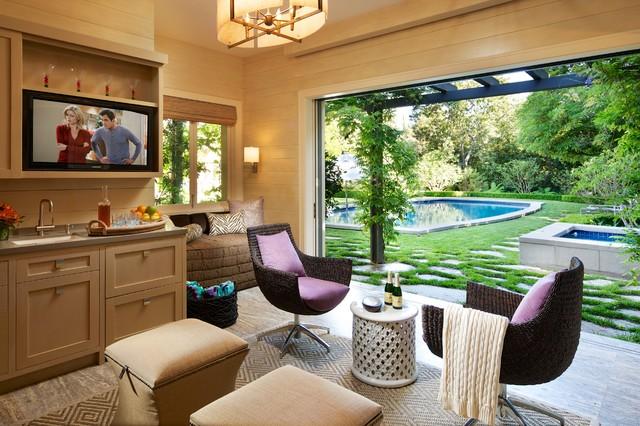 Pasadena Estate California Eclectic Verandah Los Angeles By The Troop Group