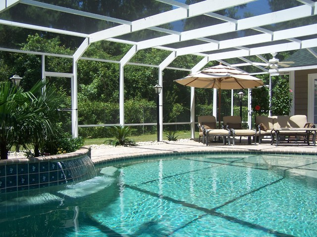 patio and pool enclosures modern patio charleston