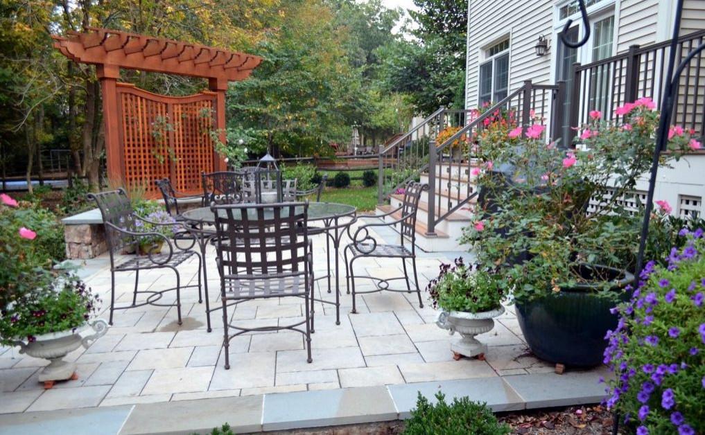Patio, Arbor, & Wood Deck Addition