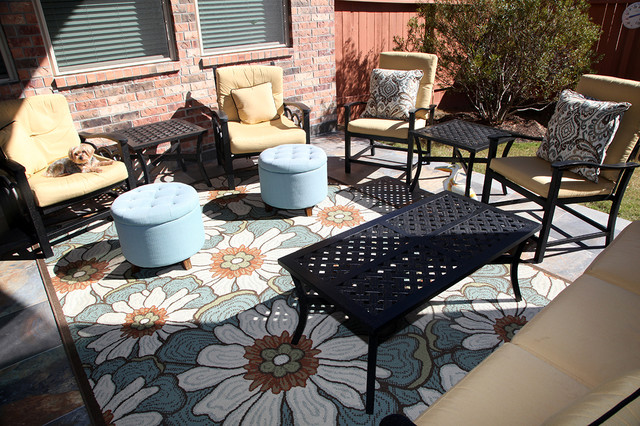 Patio By Karen Fletcher Designer At Star Furniture In Texas Contemporary Patio