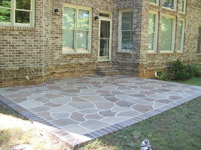 Bathroom showrooms in atlanta - Patio Concrete Resurfacing