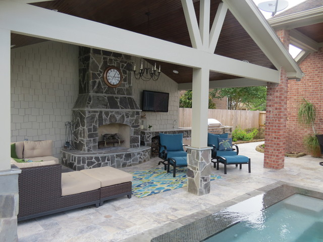 Patio Cover Project Of The Month In Katy Tx July 2015