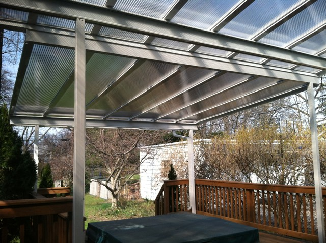 Patio Covers: Bronze Translucent Panels traditional-patio